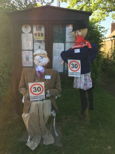 The Parish Council represented at the Scarecrow Festival