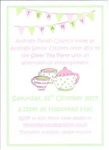 Silver Tea Party